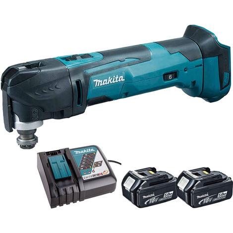 Makita 18V Oscillating Multi Tool Cutter Cordless T4TKIT-62:18V