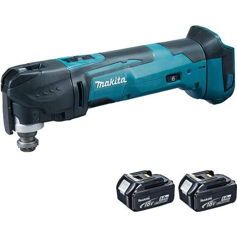 Makita 18V Oscillating Multi Tool Cutter Cordless T4TKIT-63:18V