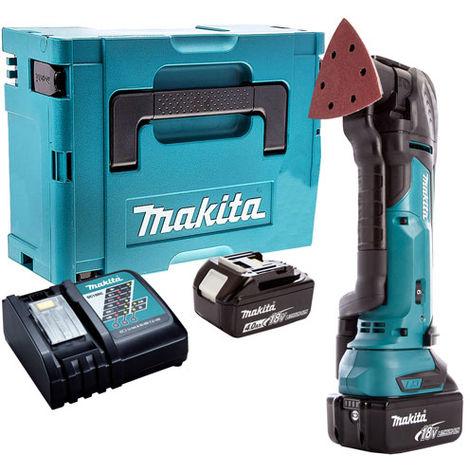 Makita 18V Oscillating Multi Tool Cutter Cordless T4TKIT-64:18V