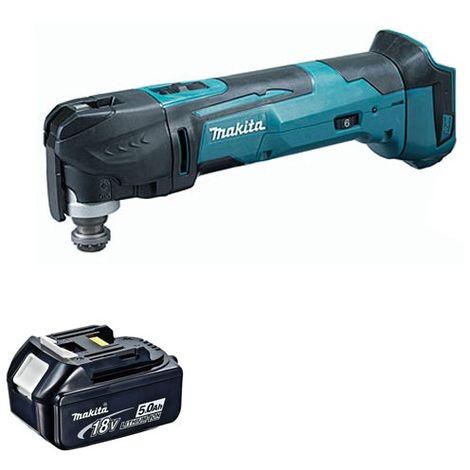 Makita 18V Oscillating Multi Tool Cutter Cordless T4TKIT-65