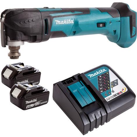 Makita 18V Oscillating Multi Tool Cutter Cordless T4TKIT-71:18V