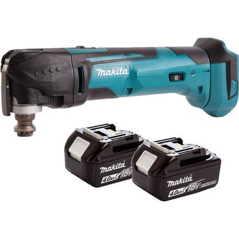 Makita 18V Oscillating Multi Tool Cutter Cordless T4TKIT-72:18V