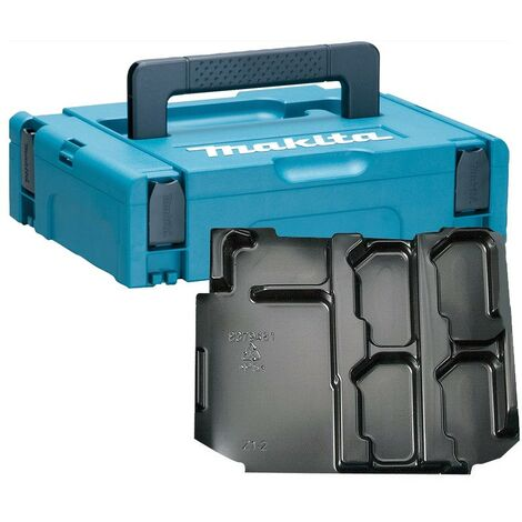 Makita 18v Type 1 Power Source Battery Charger Makpac Case DC18SD DC18RC BL1850