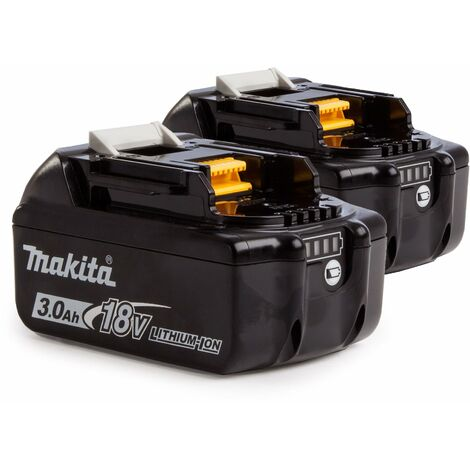 Makita 195095-7 Baterías 18V Li-Ion 3.0Ah duo pack de baterías (2 Baterías BL1830)
