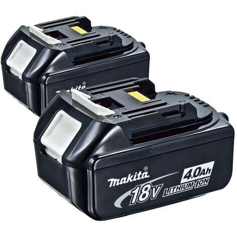 Makita 197273-5 BL1840B Duopack 18V Litio-ion Baterías - 4.0Ah (2 unidades)