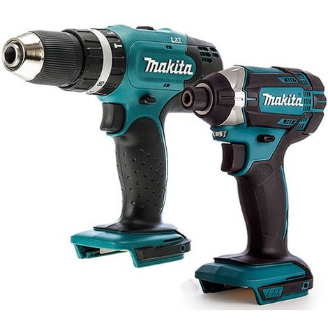 Makita 2 Piece 18V LXT Li-ion Impact Driver & Combi Drill Body Only