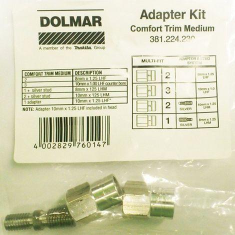 MAKITA 381224230 - Adaptador para utilizar con 3812242408x1.25 lhf / 10x1.00 lhf