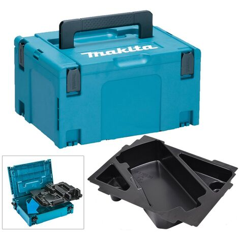 Makita 4 Inch Belt Sander Makpac Tool Case and Inlay for Models 9404