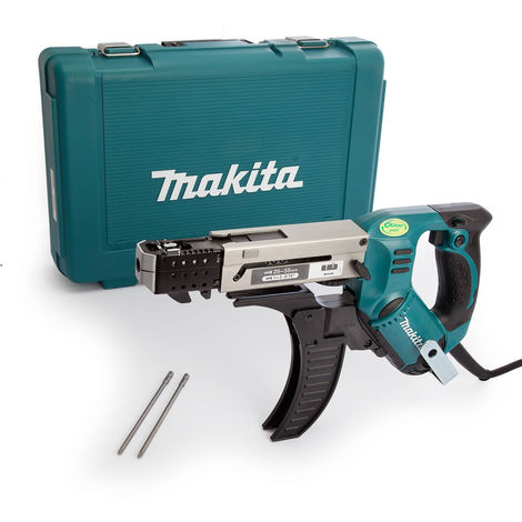 Makita 6844 110V 75mm Auto Feed Screwdriver With Carry Case
