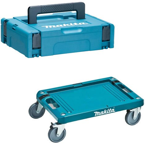 Makita 821549-5 Type 1 Makpac Case Small With P-83886 Trolley No Inlay