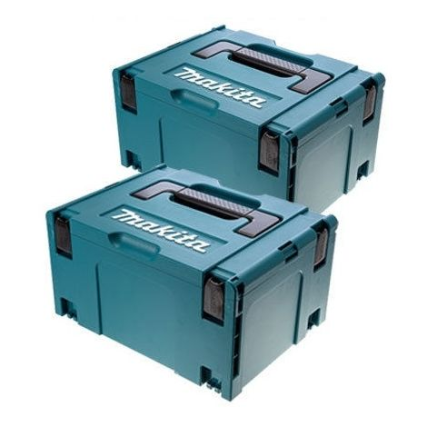 Makita 821551-8 MakPac Type 3 Stacking Connector Case (Twin Pack)