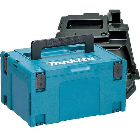 Makita 821551-8 Stackable Case Large Size With Inlays 837628-9
