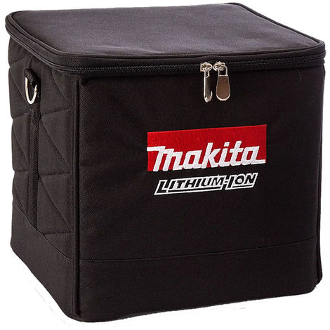 Makita 831373-8 10 Inch 225mm Black Cube Tool Bag with Carry Strap