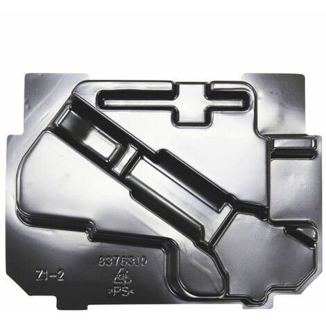 """main image of """"Makita 837631-0 Inner Tray Inlay for Type 3 Connector Case DFR550, BFR440, BFR550"""""""