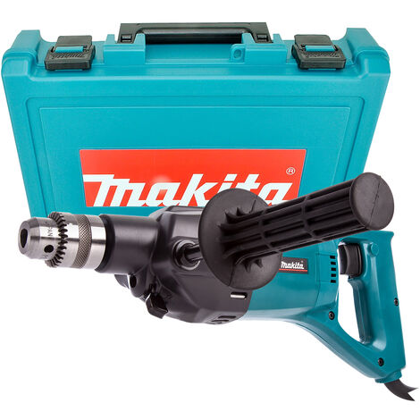 Makita 8406 110V 13mm Diamond Core and Hammer Drill with Carry Case - Blue