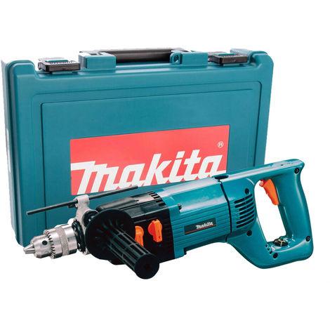 Makita 8406C 13mm Diamond Core Drill - Rotary & Percussion 110V In Case