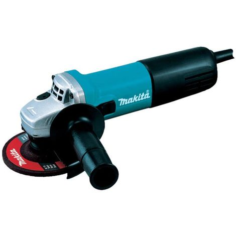 Makita 9557NBRX1 115mm Angle Grinder with Diamond Blade 240v
