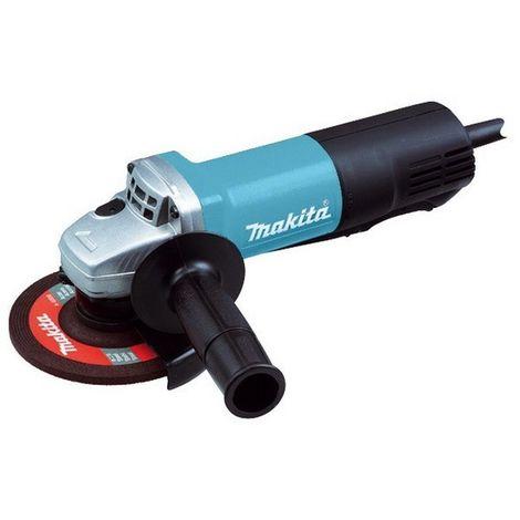 MAKITA 9558PBY - Mini-amoladora 125 mm 840w 11000 rpm 2.1 kg sin bloqueo interruptor