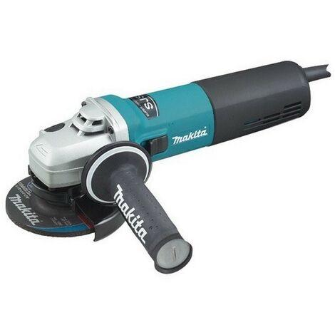 MAKITA 9565CVR - Mini-amoladora 125 mm 1400w 2800-11000 rpm 2.2 kg sjs sar makpower
