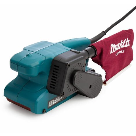 "Makita 9911 3""/75mm Electric Heavy Duty Belt Sander & Dust Bag 110V"