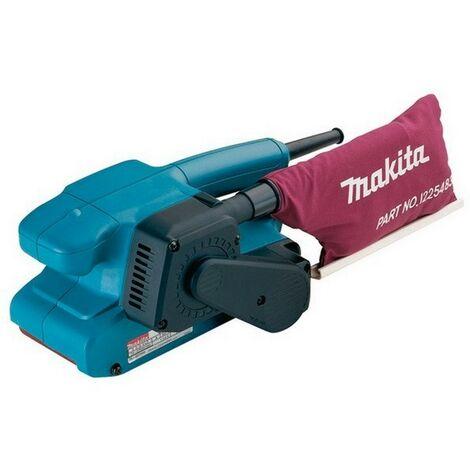 MAKITA 9911 - ponceuse à bande 76x457mm 650w 75 à 250 m/min 2.7 kg