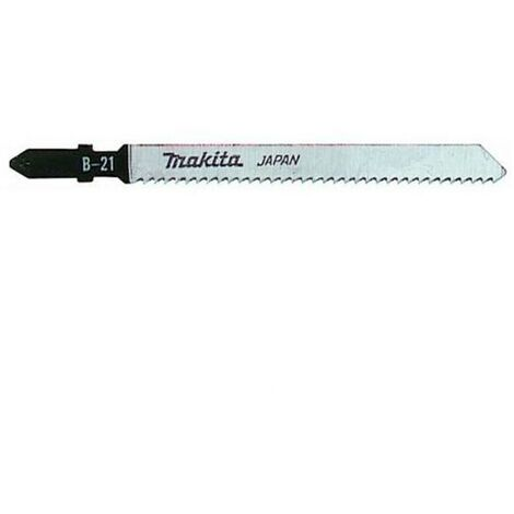 Makita A-85721 Jigsaw Blades Designed for Acrylic (Pack of 5)