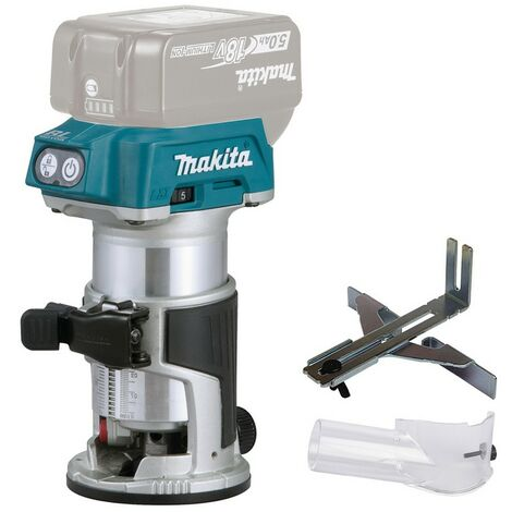 Makita Affleureuse 18V, 8mm - DRT50Z