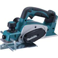 Makita Akku-Hobel DKP180Z 82mm, 18Volt, Elektrohobel, blau/schwarz, ohne Akku und Ladegerät