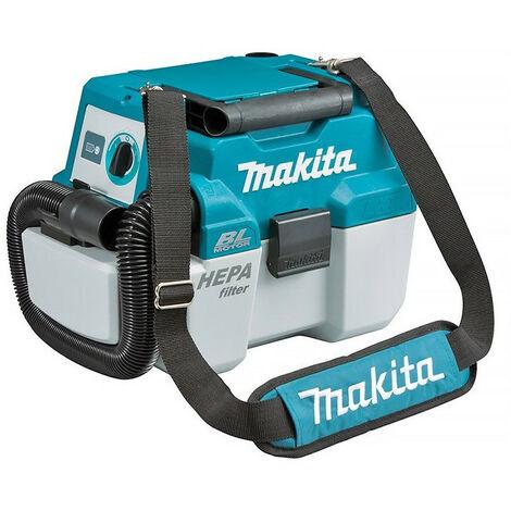 Makita - Aspirador soplador 18V Li-Ion 6.7 / 4.2 mbar sin batería ni cargador - DVC750LZX1
