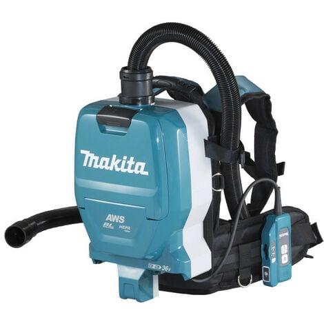 Makita - Aspirateur 2x18 V (36 V) Li-Ion 110 mbar sans batterie ni chargeur - DVC265ZXU