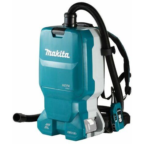 Makita Aspirateur 2x18V avec Bluetooth, sans batterie et chargeur - DVC665ZU