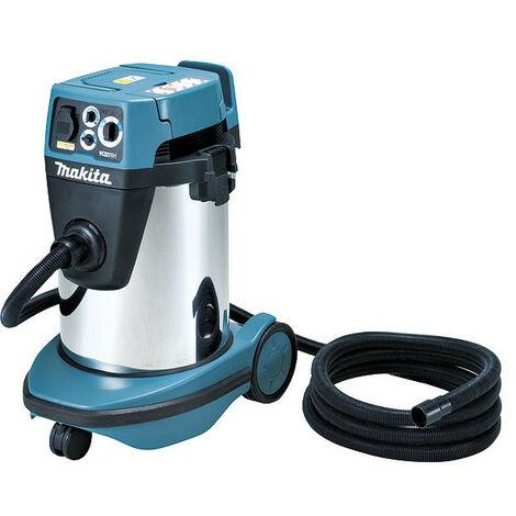Makita - Aspirateur d'atelier et eau et poussière Pro 1050W 32L classe H - VC3211HX1