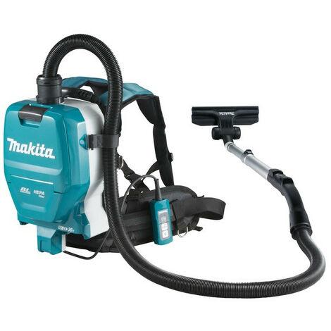 Makita - Aspirateur dorsal 2x18V Li-Ion 110 mbar sans batterie ni chargeur - DVC261ZX11