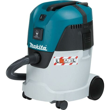 Makita - Aspirateur eau et poussières 25L 1000W 210 mbar avec Prise outils - VC2512L