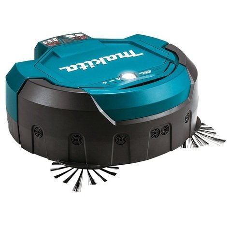 Makita - Aspirateur Robot à batterie 18 V Li-Ion 2,5L (machine seule) - DRC200Z