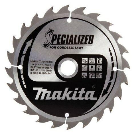 Makita B-09173 165mm 165x20x24T TCT Circular Saw Blade
