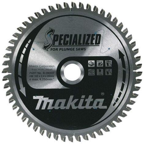 Makita B-09612 190mm x 20mm x60T Specialized Aluminium Mitre Saw Blade