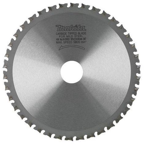 MAKITA B-09771 - Disco de hm de 185 mm 70 dientes para cortadora de metal 4131