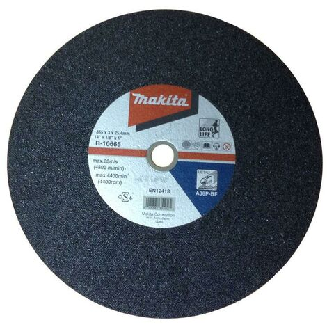 """main image of """"Makita B-10665 14"""" Metal Chop Saw Disc"""""""