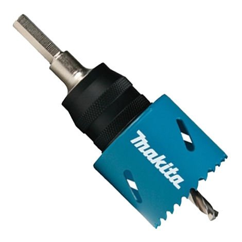 Makita B-11536 EZYChange Power Change Adapter + HSS-G Pilot Drill Bit