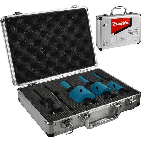 Makita B-11972 8PC Electricians Ezychange Holesaw Set 16mm - 51mm + Metal Case