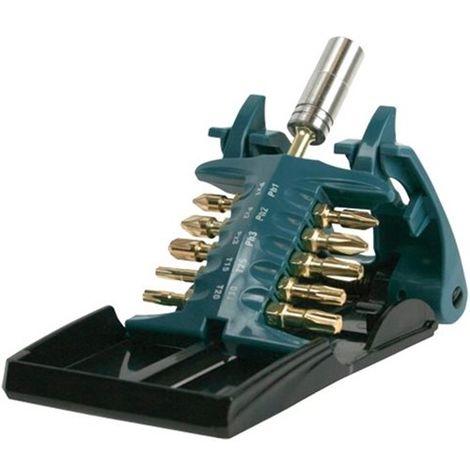 Makita B-28597 11 Piece Impact Gold Torsion Screwdriver Bit Holder Set