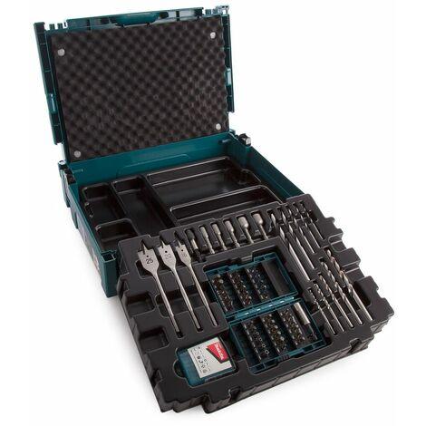 Makita B-43044 66 Piece Drill & Screwdriver Bit Set in Makpac Case