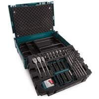 Makita B-43044 66 Piece Drill & Screwdriver Bit Set in Makpac Case