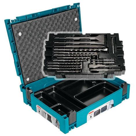Makita B-52059 Makpac SDS+ Chisel & Drill Bit Set 17pcs