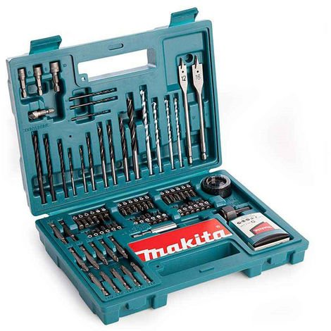 Makita B-53811 Drill and Screwdriver Bit Accessory Set 100 Piece