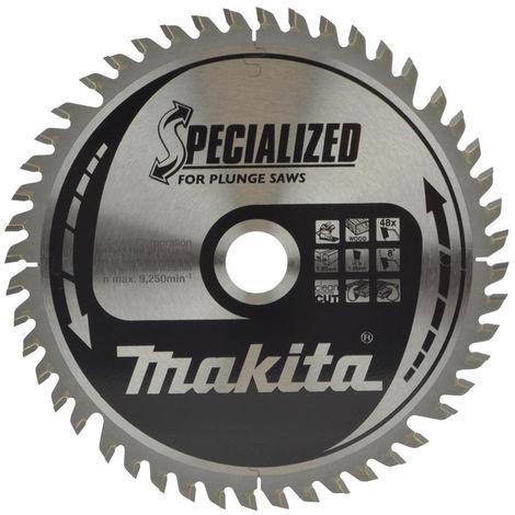 Makita B-56708 165 x 20 x 48T TCT Plunge Saw Blade for Wood