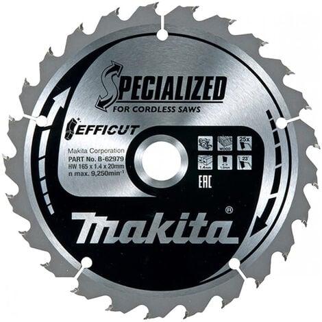 Makita B-62979 Efficut Cordless 165mm 25T Plunge Saw Blade