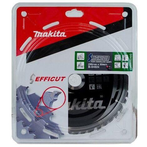 Makita B-64624 260mm x 30mm 45 Teeth Efficut Cordless Mitre Saw Blade DLS110
