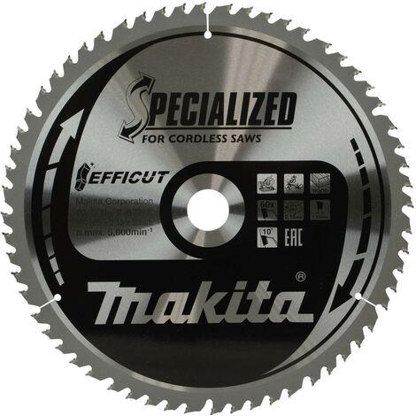 "main image of ""Makita B-67256 305mm x 30mm 60 Teeth Efficut Cordless Mitre Saw Table Saw Blade"""